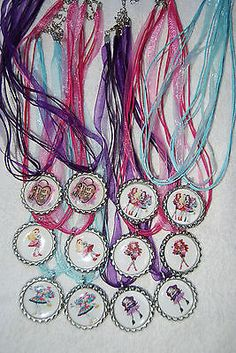12 EVER AFTER HIGH Bottle Cap NECKLACE. I need to figure out how to make these myself instead of buying.