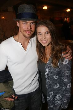 Learning on the road: Bindi Irwin and her Dancing With The Stars professional partner Derek Hough headed to Broadway on Wednesday and watched Chicago ahead of performing the Charleston on Monday night's show