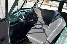 Mint interior 1964 Volkswagen Double cab.