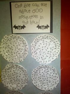 More Bat Activities: I did this one last year and the kids loved it!!