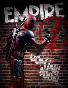 Deadpool Empire Magazine Cover
