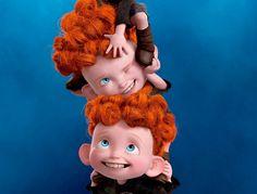 Novos posteres da animação Brave apresentam os personagens