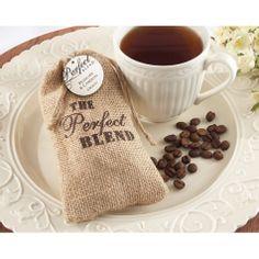 Coffee Burlap Drawstring Favor Bag (Set of 12) [528-19035NA-KIT Coffee Favor Bag] : Wholesale Wedding Supplies, Discount Wedding Favors, Party Favors, and Bulk Event Supplies