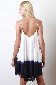 Far Out Tie Dye Dress