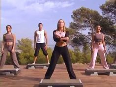 Step basic & cardio (perdre du poids) - YouTube