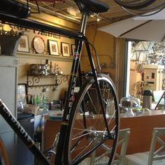 Cafe De Velo - Santa Paula, CA, United States Santa Paula, Coffee Shops, Cycling, United States, Saints, Veils, Cafes, Biking, Bicycling
