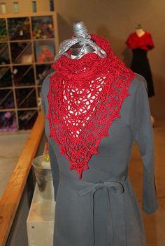 Elise Crochet Shawl Pattern , free by Evan Plevinski