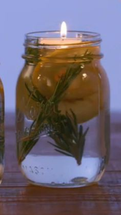 How to make your own bug repellant in a cute mason jar