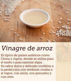 #vinagre #arroz #cocinasdelmundo #comida