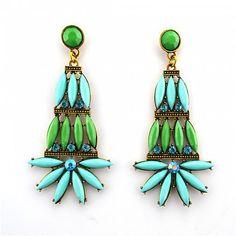 Statement Ohrringe DIANA von TRENDOMLY JOLIEBijouterie Earrings Jewelry Trend 2014