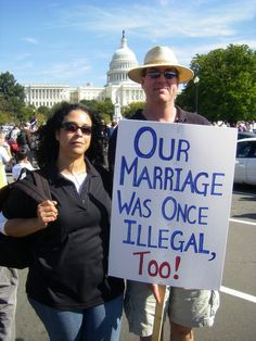 People should get to decide who to marry, not the government.