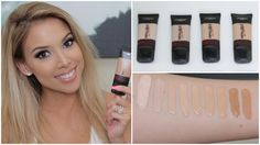 L'Oreal Infallible Pro Matte Foundation   Review, Swatches, Tips   Lustr...