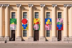 """Check out this project: """"Debrecen 2023 – European Capital of Culture"""" w… – Design Decoration Hall, Decoration Photo, Decoration Christmas, Decoration Bedroom, Decoration Design, Decorations, Banner Design Inspiration, Decoration Inspiration, Event Branding"""