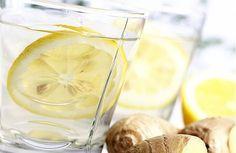 Limonade de gingembre, concombre et menthe pour un ventre plat