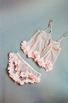 SAKURA – SHEER PINK TULLE CAMI WITH PETAL TRIM via SkinnyMe Tea // In need of a detox? Get 10% off your teatox using our discount code 'Pinterest10' at skinnymetea.com.au