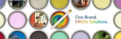 Offers exterior and interior paints.  For homeowners and professionals.