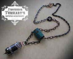 Industrial Electron Necklace by tursiart