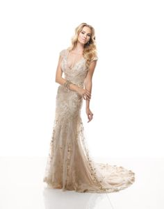 We love the vintage-inspired Maggie Sottero Spring 2014 collection!