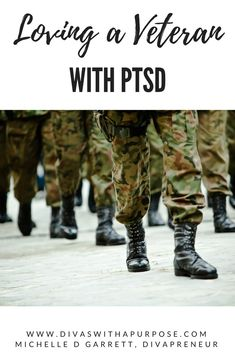 Loving a veteran with PTSD is not an easy task. They have sacrificed so much for our country and return home with unspoken demons that impact their families Military Spouse, Ptsd Military, Military Retirement, What Is Ptsd, Ptsd Quotes, Ptsd Symptoms, Ptsd Awareness, Emotionally Drained