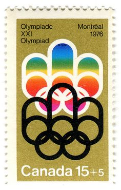 Canada Postage Stamp: 1976 Olympics in Montreal by karen horton, via Flickr