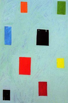 Mary Heilmann, 311 Castro Street, 2001, Oil on canvas, 54 × 36 in