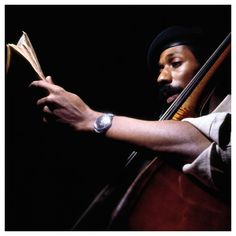 Ron Carter photographed by Francis Wolff. Jazz Artists, Blues Artists, Jazz Musicians, Happy Birthday Ron, Francis Wolff, Ron Carter, Jazz Cat, All That Jazz, R&b Soul