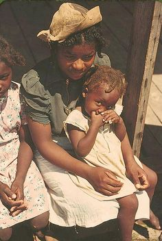 Mother and Children by Black History Album, via Flickr