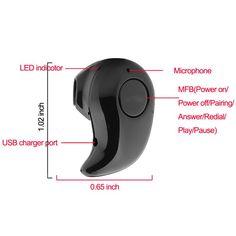 21ed6f0dda3 Small Stereo S530 Bluetooth Earphone 4.0 Auriculares Wireless Headset  Handfree Micro Earpiece for xiaomi phone Fone de ouvido