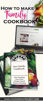 Family cookbooks are an important way to preserve our mealtime traditions for future generations. Click the image to learn more and make your own cookbook. Cooking With Kids, Cooking Tips, Cooking Recipes, Cooking Classes, Cooking Games, Make Your Own Cookbook, Cookbook Recipes, Cookbook Ideas, Recipe Binders