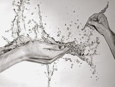 Design Stack: Hyper-Realistic Water Pencil Drawings