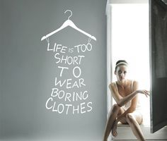 clothing resale motivational quote - Google Search
