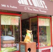 Storefront: Sam & Willy's, Chicago, Illinois, USA