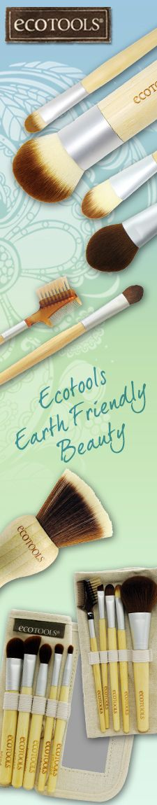 Create a flawless finish with EcoTools brushes.