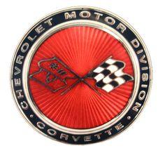 C3 Corvette Front Emblem Metal Sign