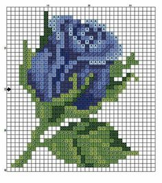 63 Ideas For Wall Design Pattern Color Combos Mini Cross Stitch, Cross Stitch Rose, Cross Stitch Flowers, Cross Stitch Charts, Cross Stitching, Cross Stitch Embroidery, Embroidery Patterns, Modern Cross Stitch Patterns, Cross Stitch Designs