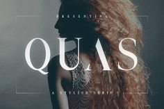 Quas Typeface by Tugcu Design Co. on @creativemarket