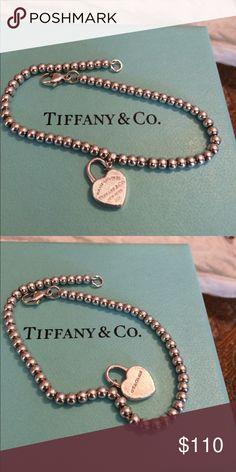 6.5 bracelet authentic tiffany&co Bracelet authentic silver Tiffany&co 6.5 Tiffany & Co. Jewelry Bracelets