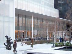 MoMA New York by Stone and Goodwin, Philip Johnson and Yoshio Taniguchi