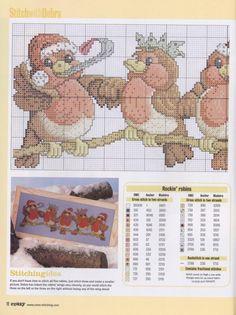 Gallery.ru / Фото #1 - Cross Stitch Crazy 053 рождество 2003 - tymannost