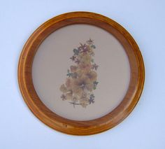1950s Vintage Art Pressed Flowers in Quality by BiminiCricket, $60.00