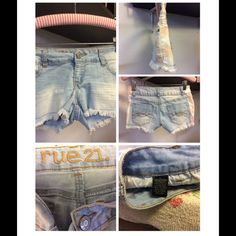 Final ⬇️ Rue 21 tie dye shorts Light wash with pink tye dye cotton polyester spandex blend. Bundle for further discount. Rue 21 Shorts Jean Shorts