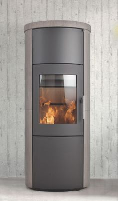 HETA New to EcoGlow is the Danish brand Heta, which manufactures a premium range of contemporary wood burning stoves. The brand offers original cast iron stoves, as well as a modern range. All the stoves feature the latest clean burn combustion technology ensuring high efficiency, excellent controllability and a comfortable radiant and convection heat. Find it at EcoGlow