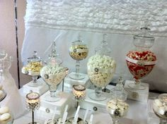 White,Bling, and a touch of Coral Wedding Party Ideas | Photo 9 of 20 | Catch My Party