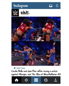 """Instagram post from WWE"" by cecilia-bella ❤ liked on Polyvore featuring beauty"