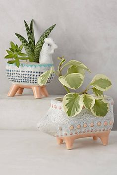 Charming Critter Planter