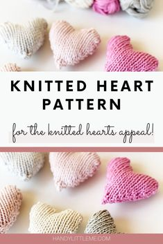Make a small knitted heart pair to send to families in hospital as part of a knitted hearts appeal during this difficult time. Knitting Patterns Free, Knit Patterns, Free Knitting, Free Pattern, Knitting Socks, Small Knitting Projects, Knitting For Kids, Knitted Heart Pattern, Knitting Abbreviations