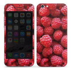 Raspberry für DesignSkins® (glänzend) für Apple iPhone 6 von DeinDesign™