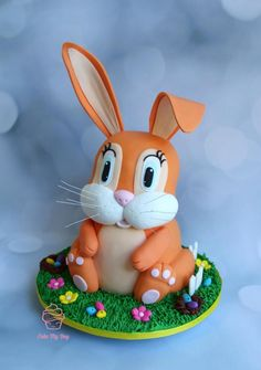 3D Easter bunny - Cake by Cake My Day