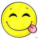Emoji qui tire la langue de côté