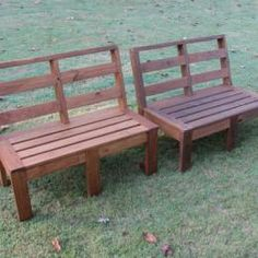 Create an outdoor corner bench unit. FREE plans and ...